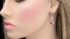 Signature Pink Earrings
